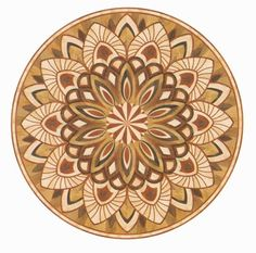 printable medallion template | Details, description and price for R91 in Wood Medallions