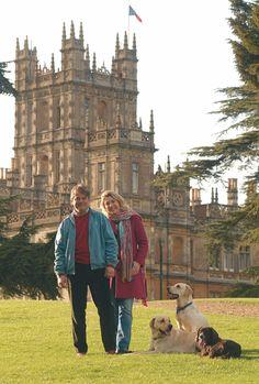 Highclere Castle Lord & Lady Carnarvon2   Courtesy Highclere Castle