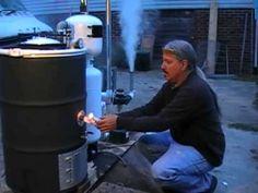 Imbert Gasifier Test 04-18-2013 - YouTube