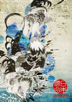 JAPONIZM by Shiiho , via Behance