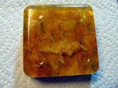 Lemongrass tumeric soap with calendula petals
