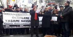 Ortaköy'deki terör saldırısı Ankara'da protesto edildi