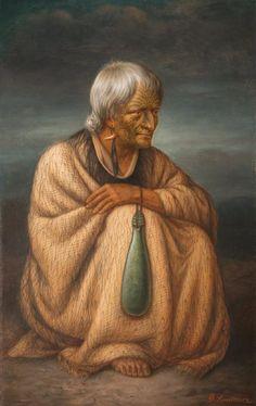 Horeta Te Taniwha by Gottfried Lindauer Maori Face Tattoo, Auckland Art Gallery, Polynesian People, Maori People, Maori Tattoo Designs, Maori Art, Different Tattoos, Tattoos Gallery, New Zealand