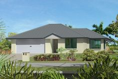 GJ Gardner Home Designs: Aspect 156 Facade Option 2. Visit www.localbuilders.com.au/builders_south_australia.htm to find your ideal home design in South Australia