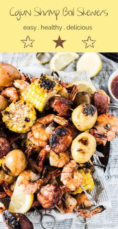 Cajun Shrimp Boil Skewers | The Endless Meal