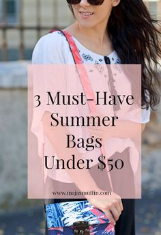 Maja's Muffin blog | See 3 summer trends in a bag | Must-have summer bags | Bags | Accessories