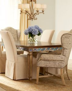 """Braxton"" Dining Furniture - Horchow"