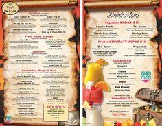 Check out the NEW Tony's Bar & Grill Menu for Legacy Vacation Resorts Orlando-Kissimmee. Vacation Club, Vacation Resorts, Vacation Destinations, Finding Memo, Brigantine Beach, Menu Book, Orlando Resorts, Family Getaways, Drink Menu