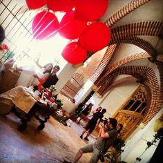 Sesión fotográfica en el Convento de San Jeronimo para presentar los nuevos packs de bodas