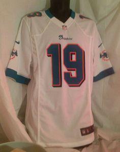 NFL Miami Dolphins Brandon Marshall #19 Nike Jersey size S On Field Football   #Nike #MiamiDolphins