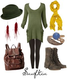 Character inspired style: Snufkin