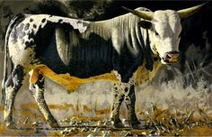South African Contemporary and Upcoming Artist & Old Masters Art Gallery. Upcoming Artists, Pretoria, Views Album, Cattle, Buffalo, Cow, Art Gallery, Art Pieces, African
