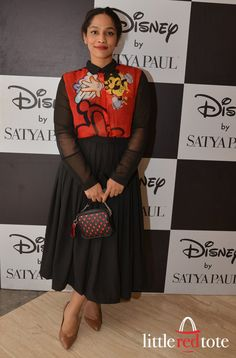 Masaba Gupta: Disney mono pop by Satyapaul, littleredtote