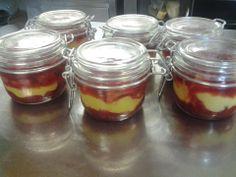 Trifle con crema di limone e fragole made by Irene Cencig
