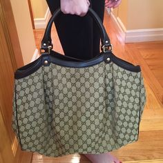 Authentic Gucci Bag Basically New Gucci Bags Travel Bags