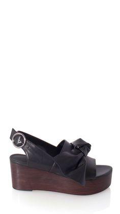88ecc4d1432e Tibi - Estel Platform Sandals Black Sandals