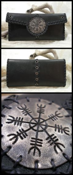 Helm of Awe tobacco pouch by morgenland on DeviantArt