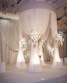 #wedding #decor #allwhite