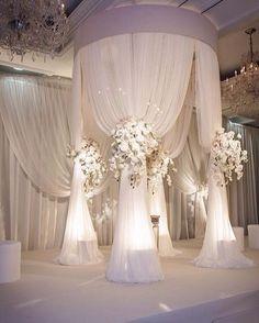 #wedding #decor #allwhite