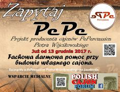 #pepercussion #cajon #polishcajonforum #darmoweporady