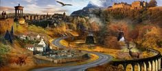 The Great Scottish Road Trip - about 875 miles and 22 hours, where culture, history, and landscape collide. Includes Edinburgh & Glasgow, Stirling, Bannockburn, Culloden & Glencoe, Loch Ness & Skye, plus many other points of outstanding interest