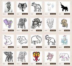 Elephant Tattoo Meanings | iTattooDesigns.: