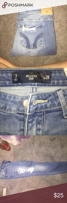 hollister ripped skinny jeans ripped skinny jeans in great condition. Hollister Jeans Skinny