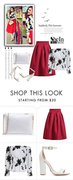 """""""SheIn 3/VI"""" by nermina-okanovic ❤ liked on Polyvore featuring Schutz and shein"""