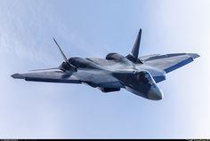 Sukhoi T-50 prototype aircraft developed as part of PAK FA program [OS]…