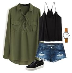 """""""Untitled #33"""" by alifya-kurawar on Polyvore featuring WithChic, 3x1 and Puma"""