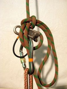 How to Lock Off Belay Device – Roped Up
