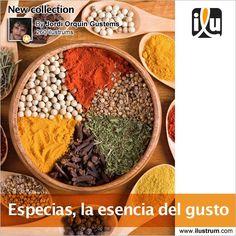 #Especias, la esencia del gusto  Por Jordi Orquin