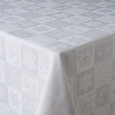 Hanukkah Ivory White Jacquard Tablecloth Holiday Decoration Dinner NEW Holiday Party Themes, Holiday Decor, Party Ideas, Baby Gifts To Make, High Holidays, Decor Inspiration, Table Linens, Hanukkah, Room