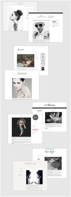 Blog Me Pretty Summer Collection  #wordpress #blogmepretty #blogdesigns #blogdesigners