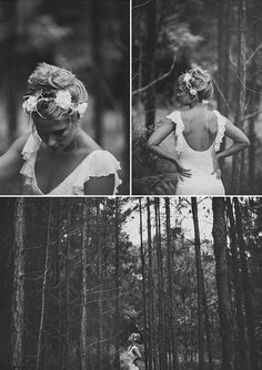 Flutter sleeve wedding dress by Grace Loves Lace