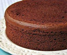 pan di spagna cioccolato bimby
