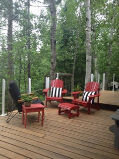 Pin by Bonny McCleery Scanlan on Cottage Deck Furniture