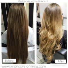 Go lighter without bleach! Ombré/Balayage by Zobha Call 02920461191 to book or…