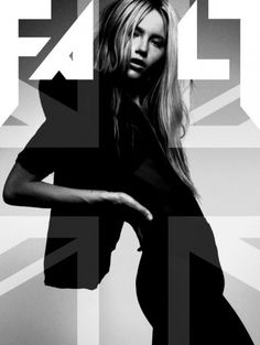 Grace Small by James D.Kelly for Fault magazine - union jack magazine layout #fashion #graphicdesign #B