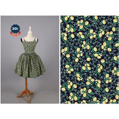 Sample Penelope Dress Pretty Poppies in Yellow Poppy Flower Floral... ($56) ❤ liked on Polyvore featuring dresses, grey, women's clothing, gray dress, floral day dress, yellow flower dress, low cut back dress and flower pattern dress