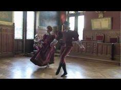 """Danse de la Renaissance aux journées du Patrimoine """"Gratie A - YouTube"""