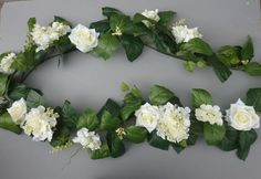 Bought for arches outside.    170cm Artificial Ivory Hydrangea & Rose Garland Wedding/Festival Decoration H-1 in Home, Furniture & DIY, Wedding Supplies, Flowers, Petals & Garlands | eBay