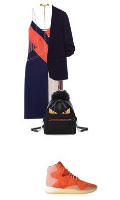 Untitled #157 by lea-monrad-post on Polyvore featuring polyvore, fashion, style, Diane Von Furstenberg, adidas Originals, Fendi, Arme De L'Amour, Eddie Borgo and clothing