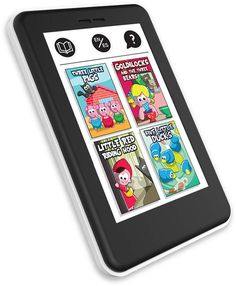 Just like mom and dad, kids now have their own realistic looking e-reader! My first e book reader has 4 beautifully told stories enriched with loads of sound effects. Black Kids Fashion, Kids Z, Toddler Books, Toys Online, Learning Toys, Sound Effects, Stories For Kids, Mom And Dad, Book Reader