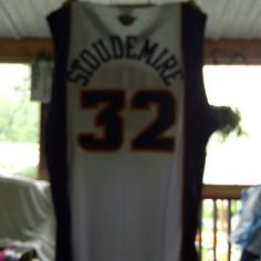 Jersey Suns jersey Stoudemire NBA authentic team apparel men's size 56 Reebok.  Great condition never worn!!!☆☆ Reebok Tops