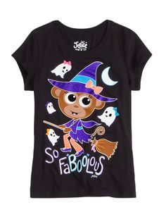 So Faboolous Halloween Graphic Tee Preteen Girls Fashion, Girls Fashion Clothes, Kids Fashion, Girl Outfits, Cute Outfits, Holiday Fashion, School Outfits, Justice Girls Clothes, Justice Clothing