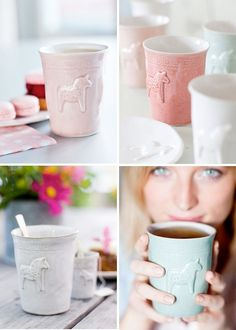 ceramic mugs swedish designer mia blanche