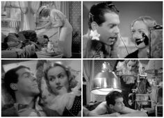 Cam Reviews: Hands Across the Table sallycooks.com Carole Lombard and Fred MacMurray