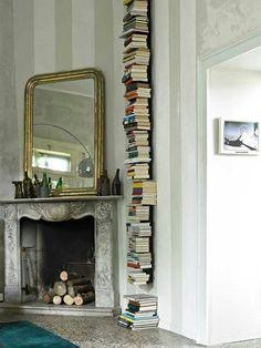 Sectional floor-ceiling mounted metal bookcase CARPE DIEM by F.lli Orsenigo  #design ...
