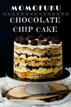 Momofuku Chocolate Chip Cake www.oastry-workshop.com #desserts #pastryworkshop #cakes